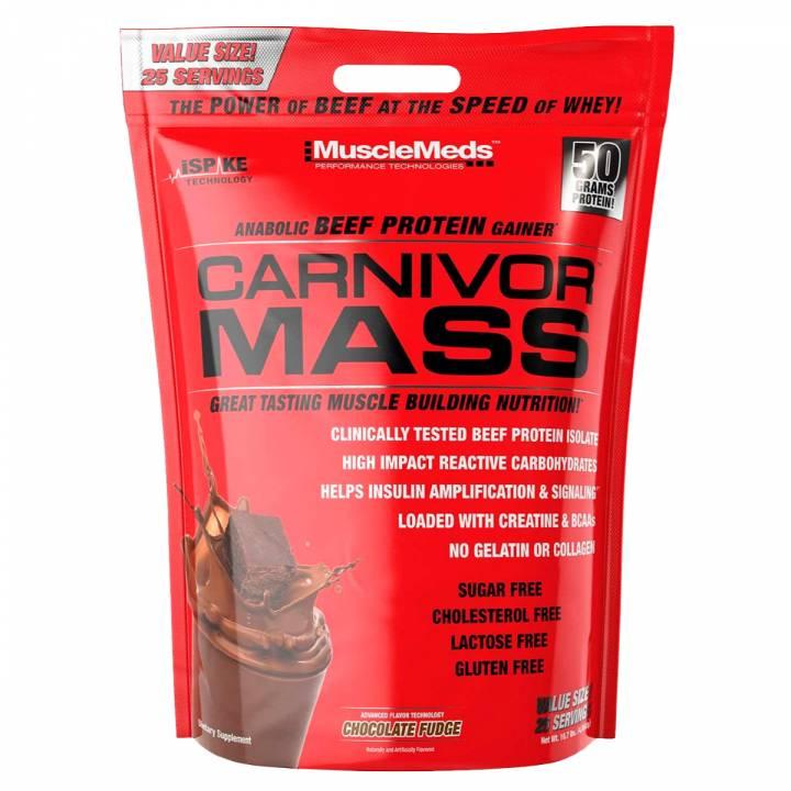 Carnivor Mass 10 Lb - Musclemeds