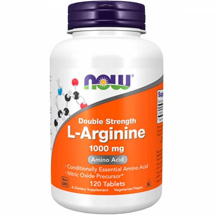 L-Arginine 1000 Mg 120 Tablets - Now