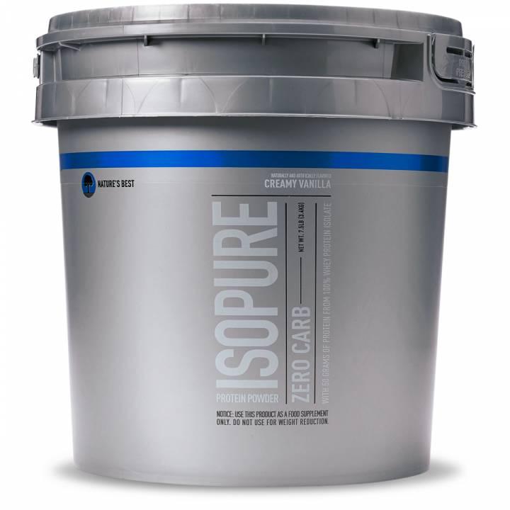 Isopure Zero Carb 7.5 Lb Creamy Vanilla - Isopure