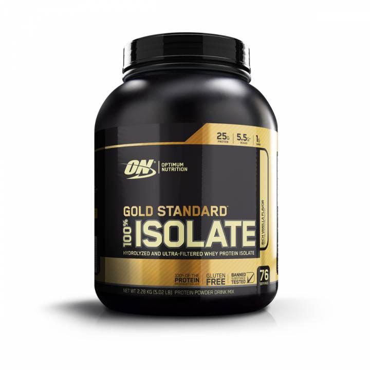 Gold Standard 100% Isolate 5lb - Optimum Nutrition