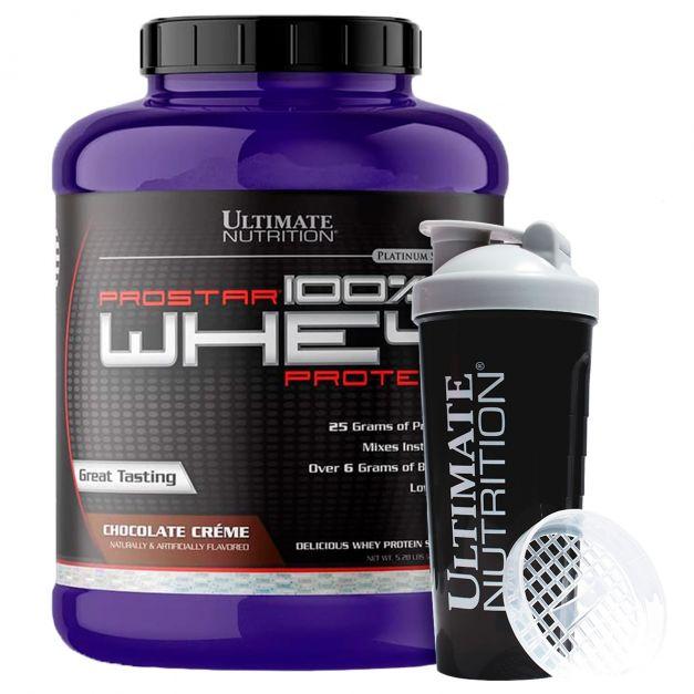 Prostar 100% Whey Protein 5 Lb + Shaker - Ultimate