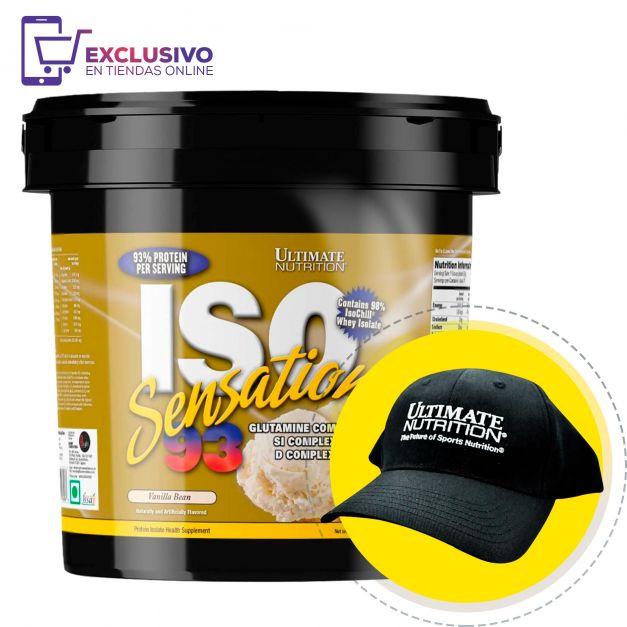 Iso Sensation 93 5 Lb + Gorra - Ultimate Nutrition