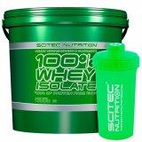 100% Whey Isolate Vanilla 4000G - SCITEC