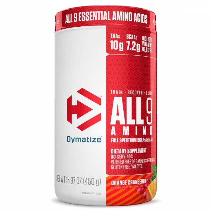 All 9 Amino 450 G Orange Granberry - Dymatize