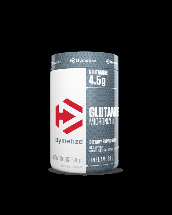 Glutamine Micronized 4,5 G 300 G - Dymatize