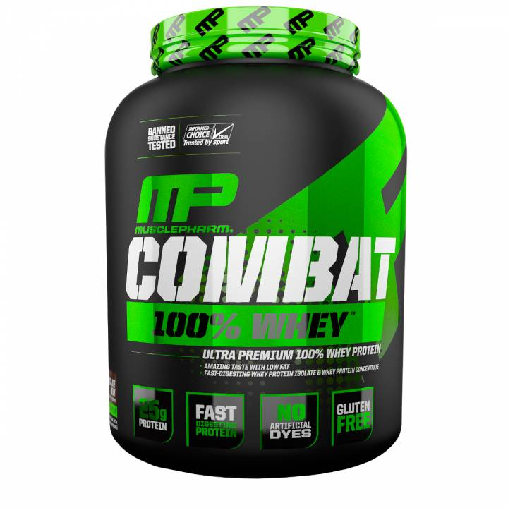 Combat 100% Whey 2269 G Chocolate Milk - Mp