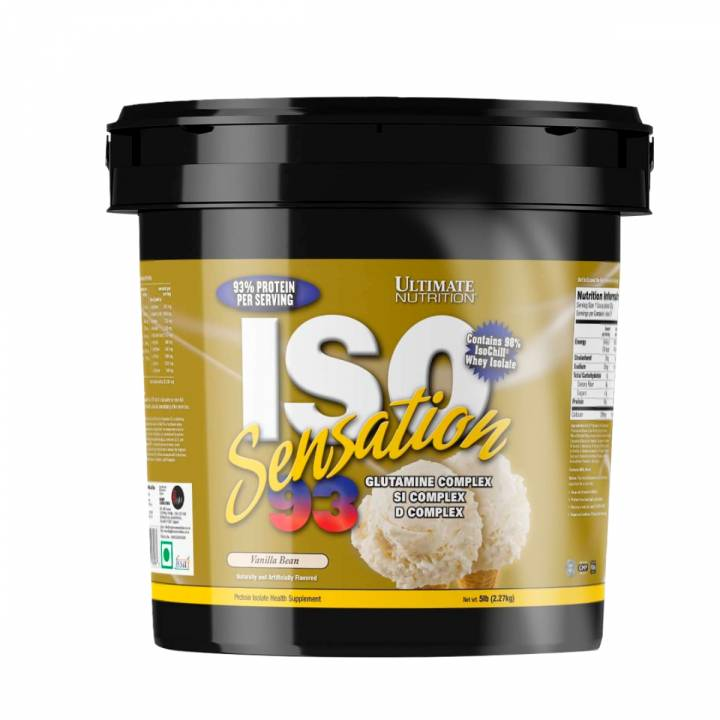 Iso Sensation 93 5 Lb Vanilla Bean - Ultimate Nutrition
