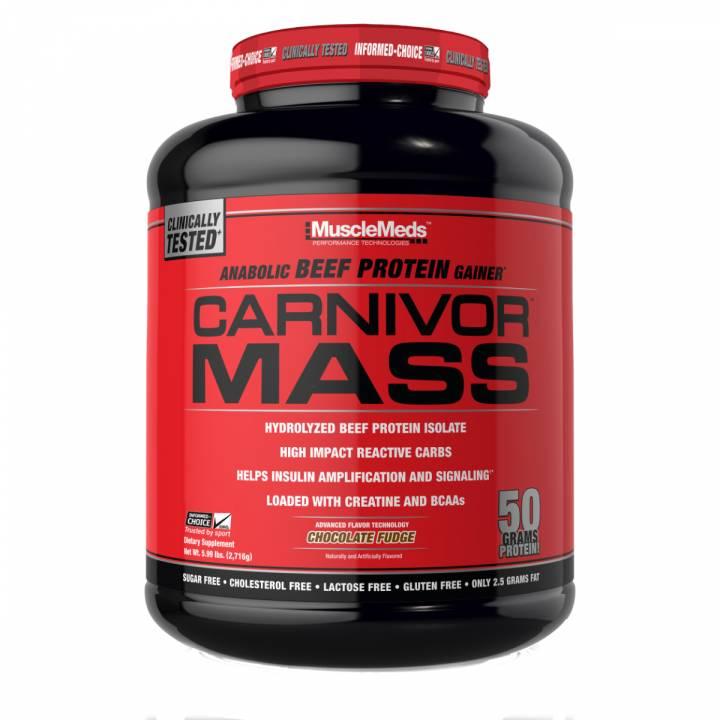 Carnivor Mass 5 Lb - Musclemeds