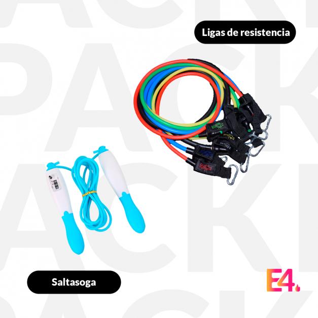 Pack Soga con contador + Ligas de Resistencia